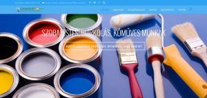 szobafesto-budapesten.hu weblap referenciánk képe