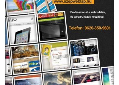 Szépweblap.hu szórólap