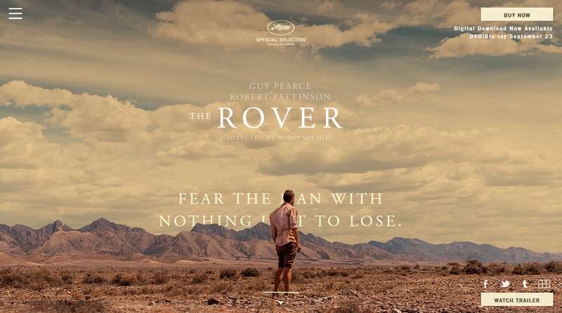 The Rover c. film weblapjának képe