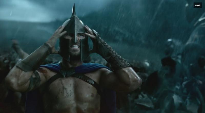 300 - A birodalom hajnala weboldalának képe