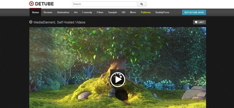 videós weblap képe