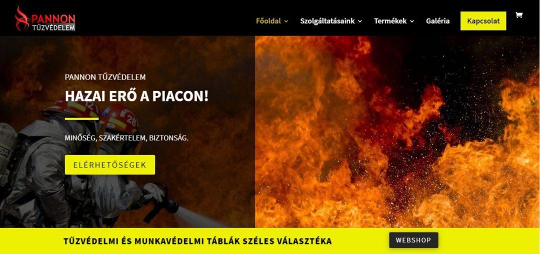 pannontuzvedelem.hu weboldal képe