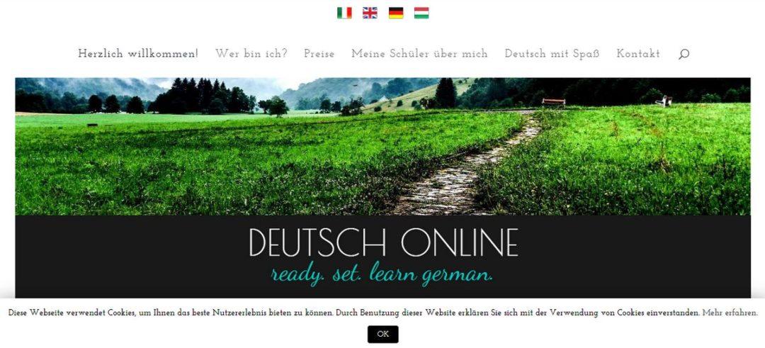 german-online.eu honlap képe