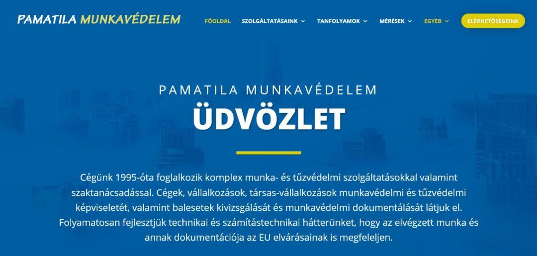 pamatila weboldal