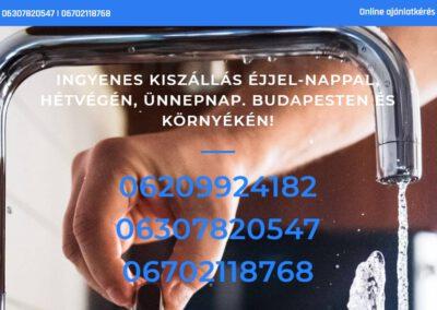 Vizszereles-csotoreselharitas.hu Weblap készítés referencia