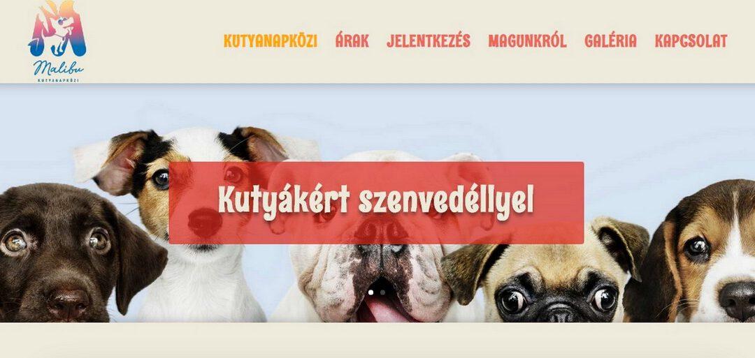 Malibukutyanapkozi.hu Weblap készítés referencia
